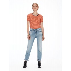 Bandit - Moon After Blauw Slim tapered boyfriend fit - MAISON SCOTCH