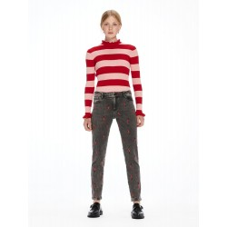 Petit Ami - Love Is All U Need Slim boyfriend fit - MAISON SCOTCH
