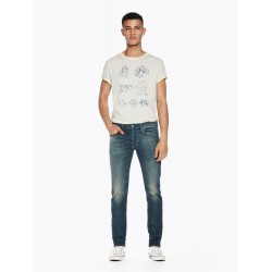 Ralston - Diego Blauw Regular slim fit - SCOTCH&SODA