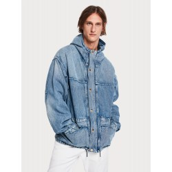 Giacca in denim oversize - SCOTCH&SODA