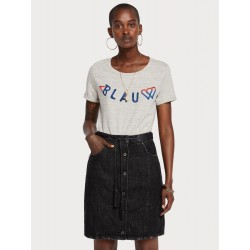 T-shirt con logo decorativo - MAISON SCOTCH