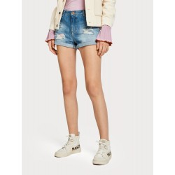 Shorts in denim - Point of View - MAISON SCOTCH