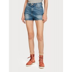 Shorts in denim - Blauwalking - MAISON SCOTCH