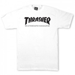 Skate Mag T-Shirt White - THRASHER