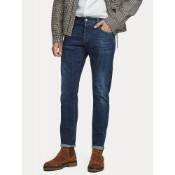 Ralston - Icon Blauw Regular slim fit - SCOTCH&SODA