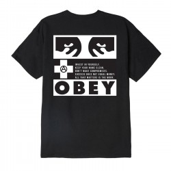 ALL THAT MATTERS CLASSIC TEE - OBEY