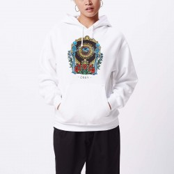 BONE HEADS BOX FIT PULLOVER HOOD - OBEY