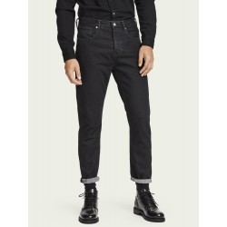 The Norm – Clean Black High-rise straight fit cotone biologico- SCOTCH&SODA