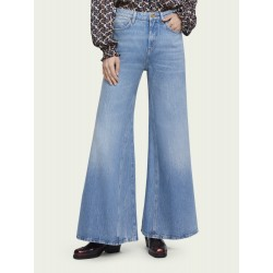 Fit stagionale Extra Wide Leg Blue Butter High-rise - MAISON SCOTCH