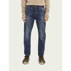 Jeans Dean loose tapered fit in cotone biologico – Washout - SCOTCH&SODA