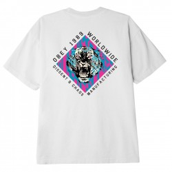 DISSENT & CHAOS TIGER CLASSIC T-SHIRT - OBEY